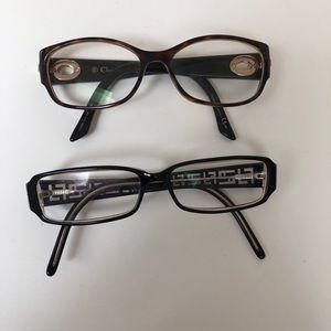 Dior and Fendi Glasses Frames